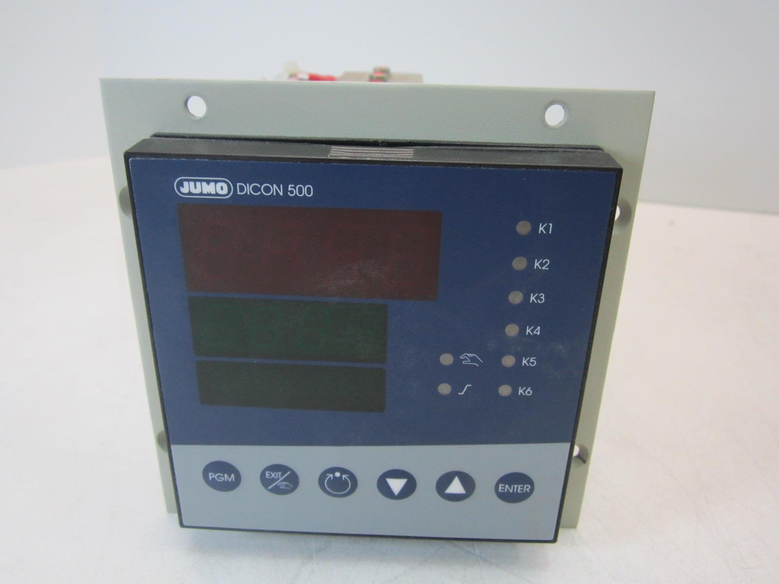 JUMO DICON 500 Controller Universeller Prozessregler