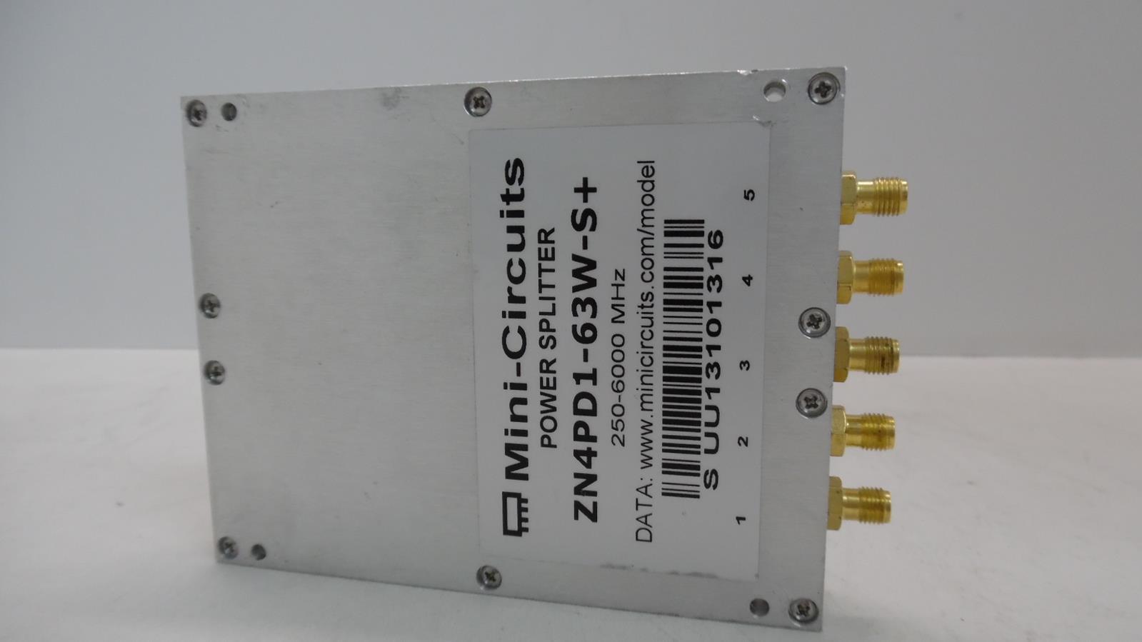 MINI-CIRCUITS ZN4PD1-63W-S+ POWER SPLITTER | eBay