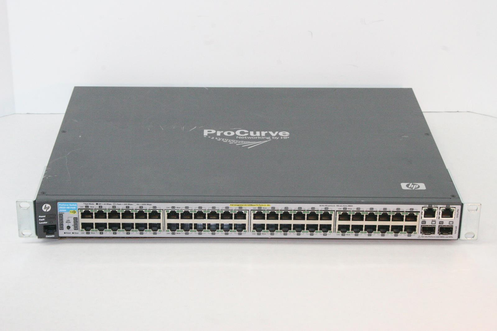 HP 2610-48-PWR 48-Port PoE Network Switch