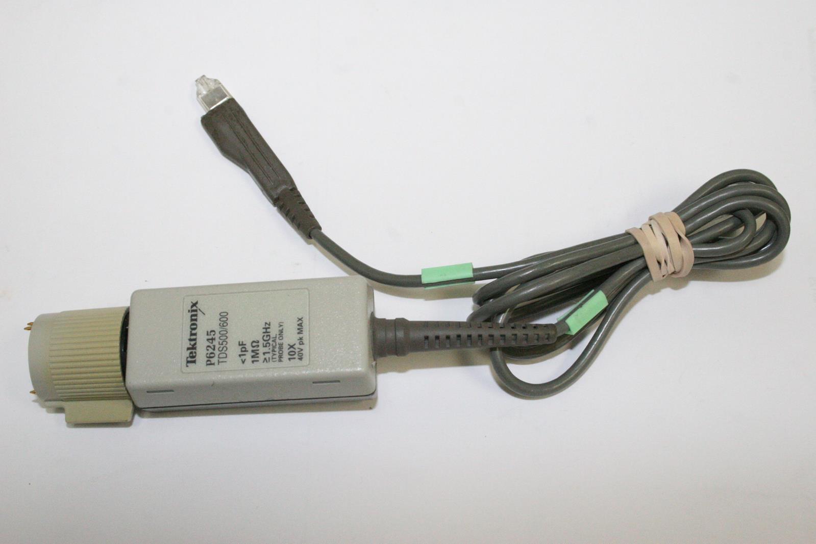 Tektronix P6245 TDS500//600 1pF 1.5GHz 15v pk MAX Oscilloscope Probe tested 10X