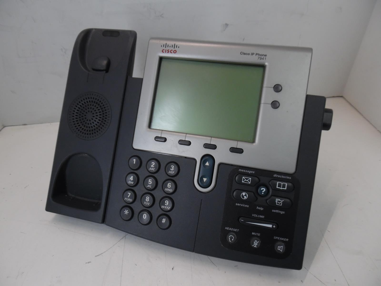 CISCO 7941 SERIES IP PHONE CP-7941G BASE ONLY