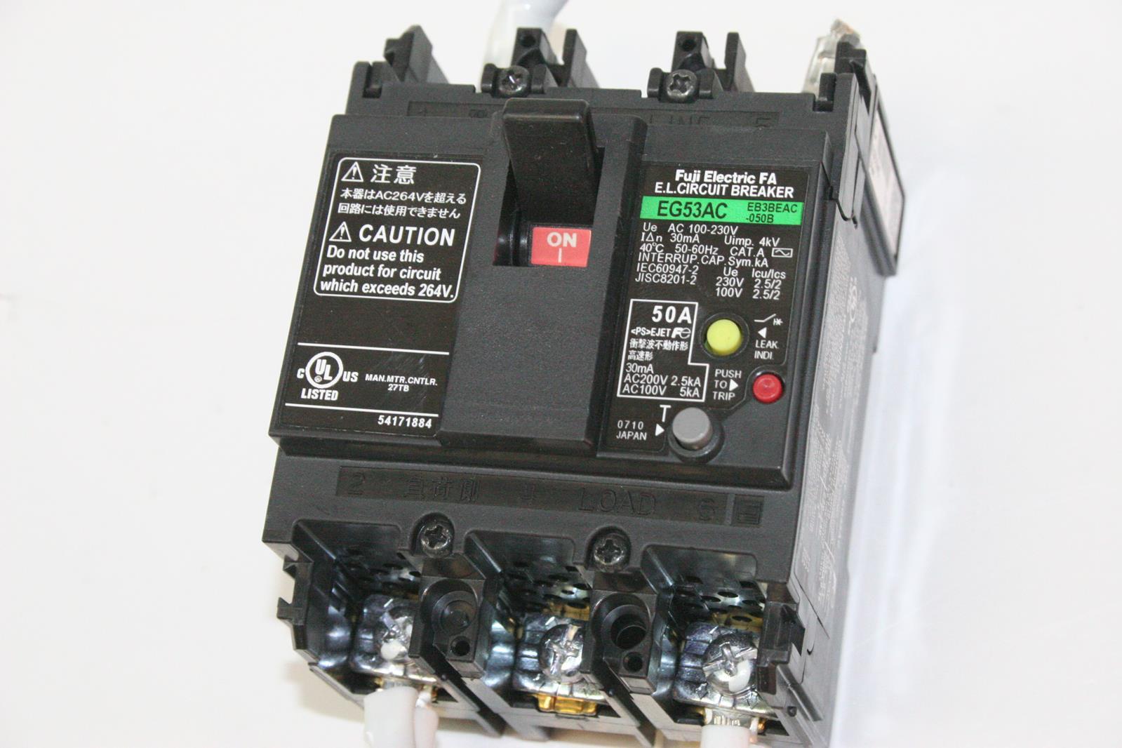 fuji electric eb3beac 050b eg53ac 50a 3 pole 100 230vac circuit rh ebay com is 5 2/5 a rational number is 5 2/5 a rational number