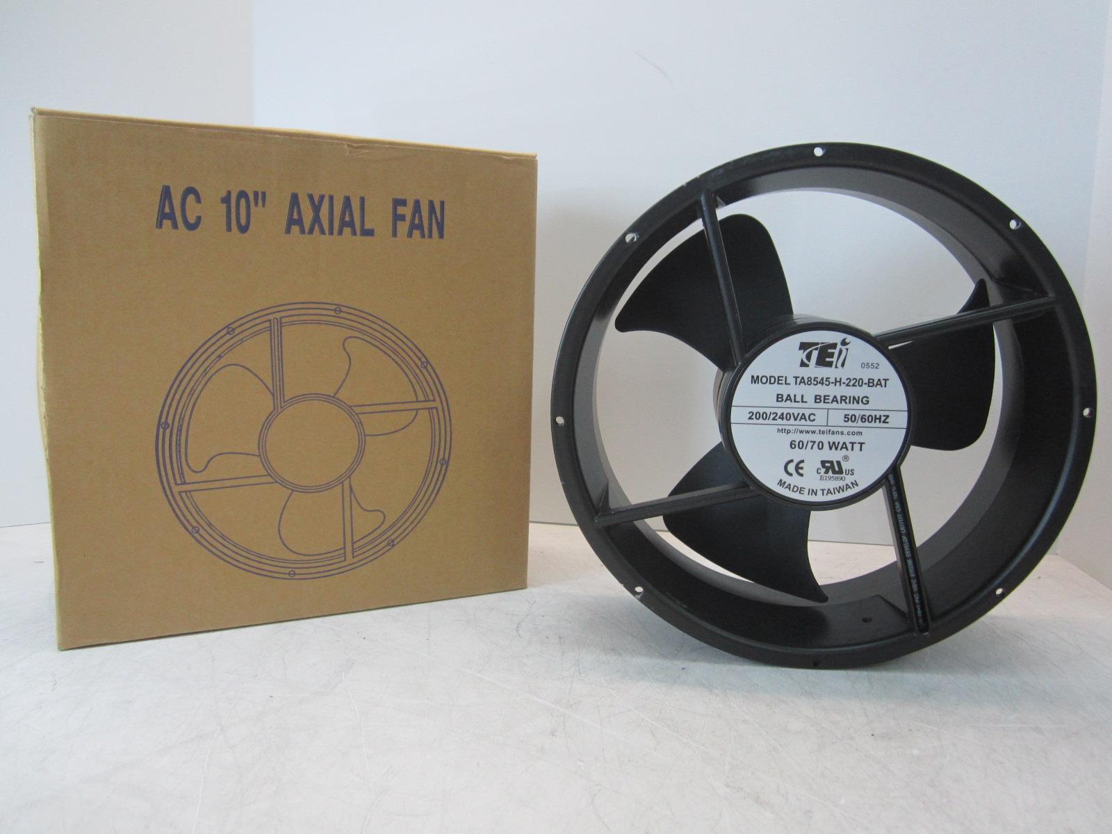 Tei Ta8545 H 220 Bat Ac 10 Ball Bearing Axial Fan 200 240 Vac