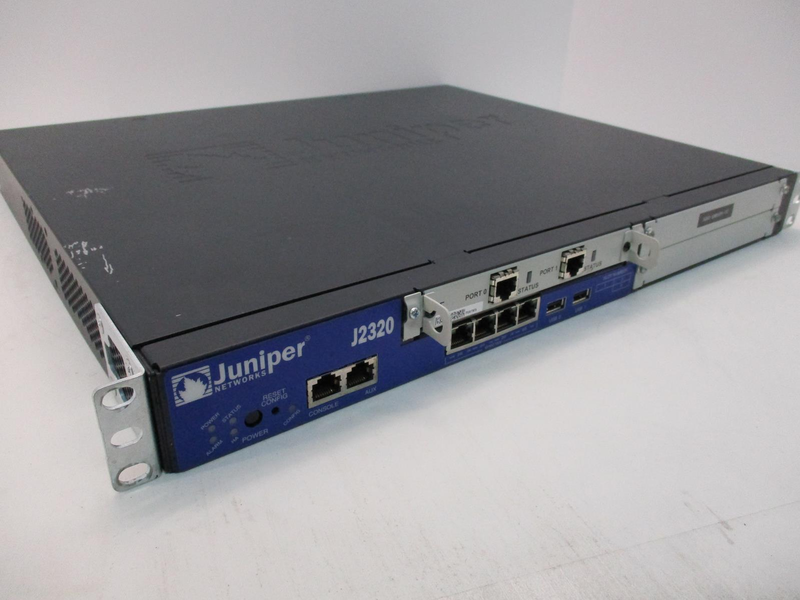 Juniper Networks J2320 400 Mbps 4-Port Gigabit Wired Router | eBay