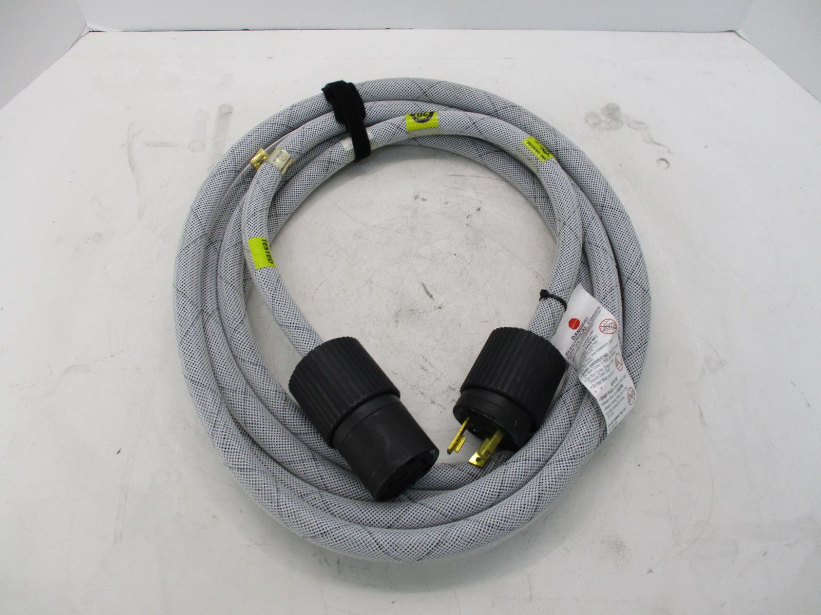 Emc Hubbell 038 003 898 Rev A02 Nema L6 30 Power Cable 250v 30a Ebay Wiring