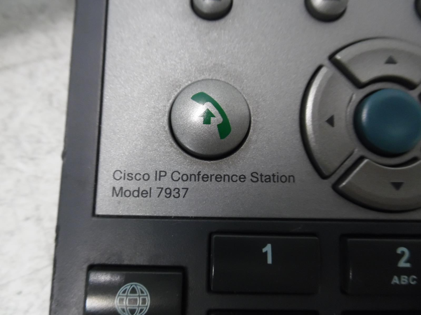 CISCO POLYCOM CP-7937G IP CONFERENCE STATION PHONE 7937