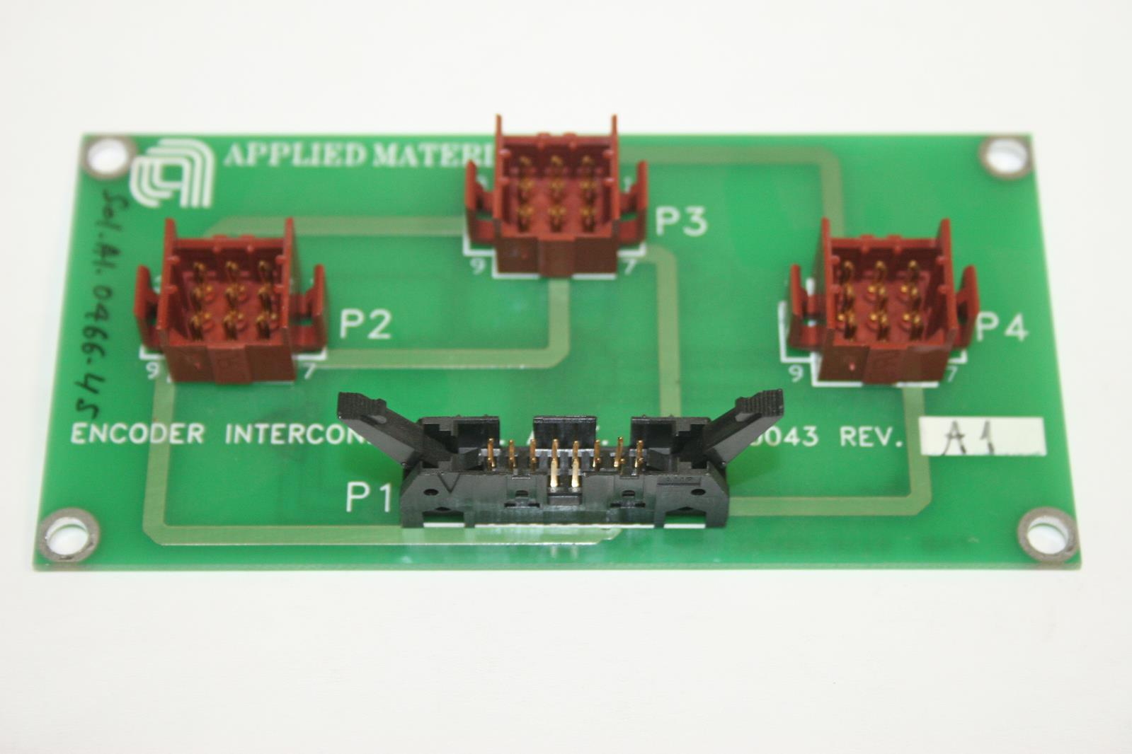 Details about APPLIED MATERIALS 0100-20043 Encoder Interconnect PCB Assembly