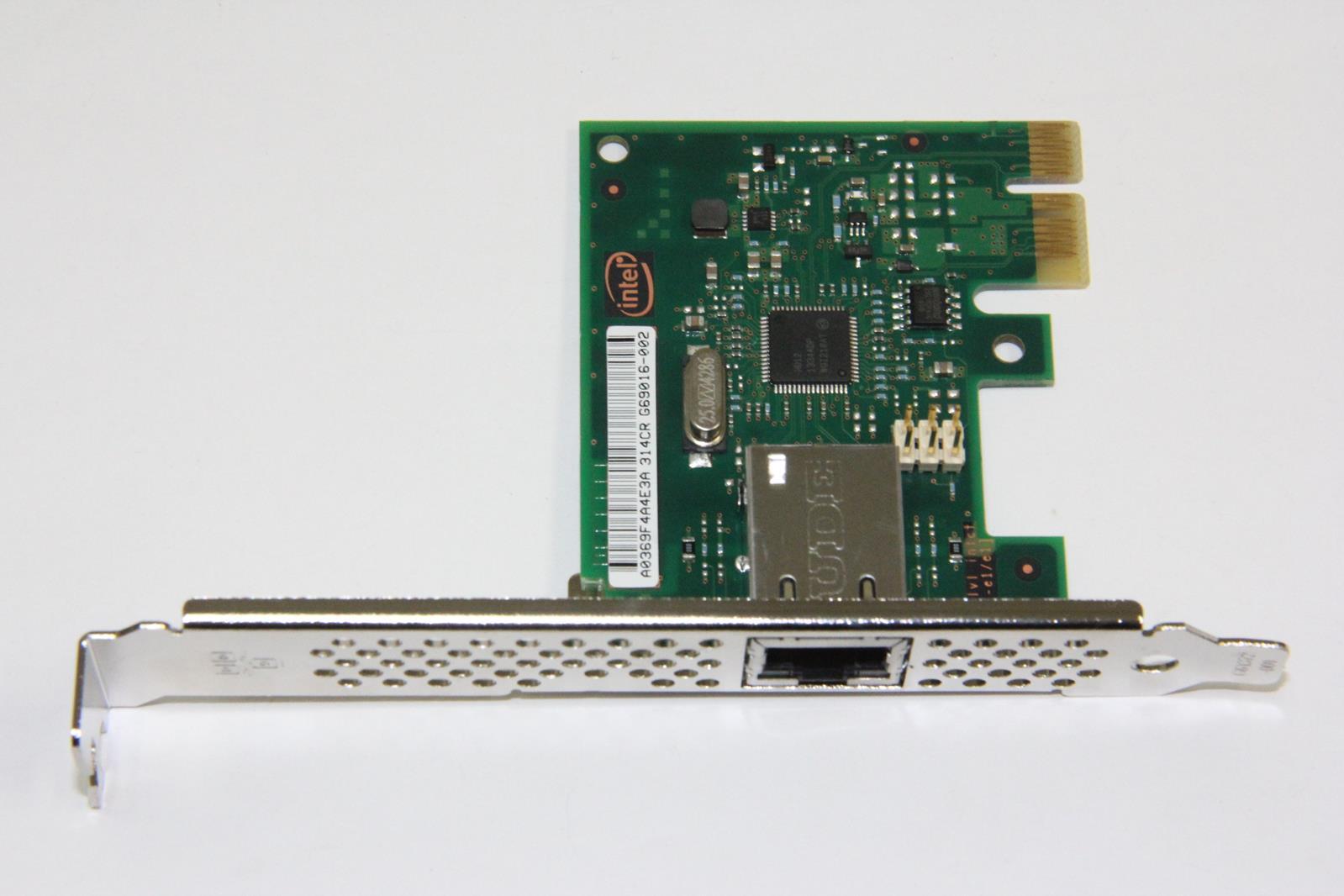 Details about INTEL I210-T1 Single Port PCI-Express X1 Gigabit Ethernet Card