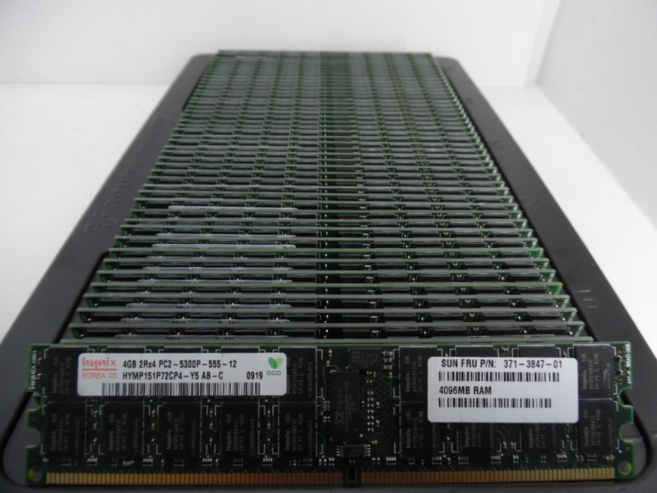 Hynix //HP 4GB 2RX4 PC2-5300P HYMP151P72CP4-Y5 AB-C ECC Server Memory